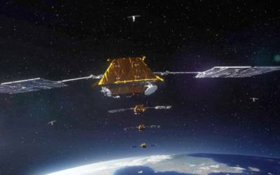 SpaceX lancia in due tappe