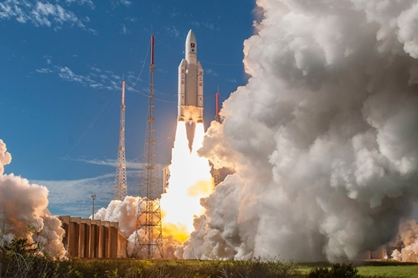 Galileo a quota 26 con Ariane 5
