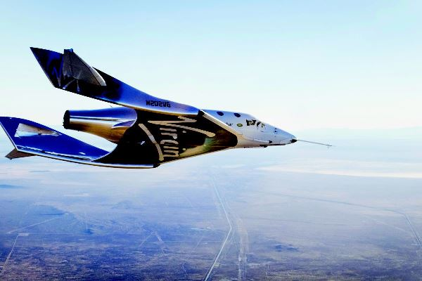 Un italiano su SpaceShipTwo